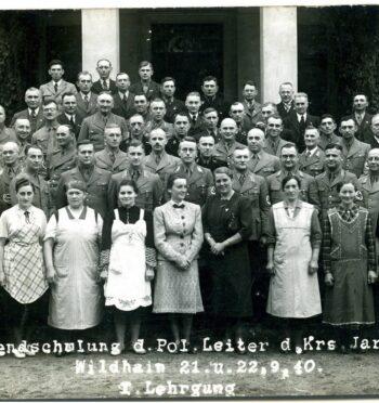 Umsiedlung. Ostateczne wysiedlenie Niemców z powiatu jarocińskiego.