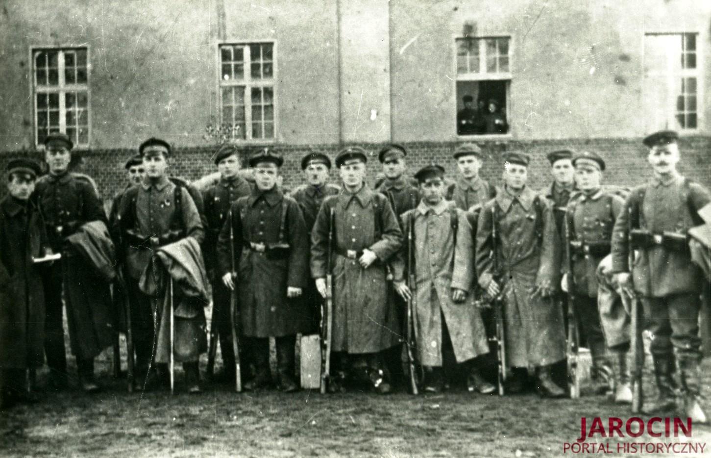 Pierwszy polski oddział zbrojny