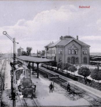 Dworzec w Jarocinie