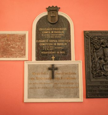 Kaplica Radolińskich w kościele pw. św. Marcina w Jarocinie