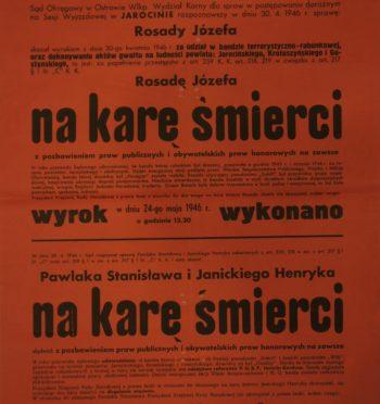 """""""Zapis czasu grozy"""", cz. I: Stanisław Pawlak ps. """"Sokół"""" (1923-1946)"""