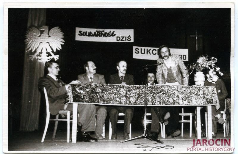 """Lata 80. w Jarocinie, z """"Solidarnością"""" w tle"""