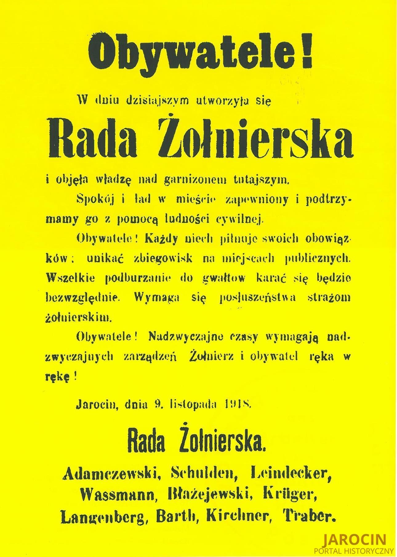 Pierwszy polski oddział w zaborze pruskim