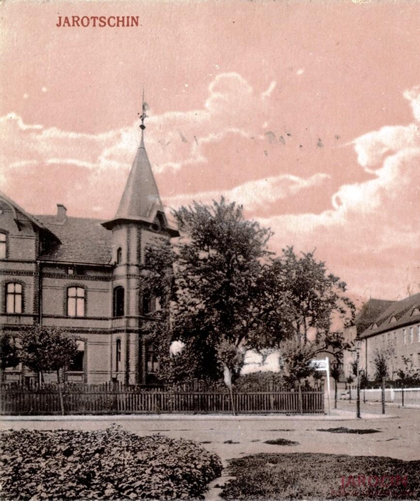 Willa miejska Augusta Frietzschke w Jarocinie