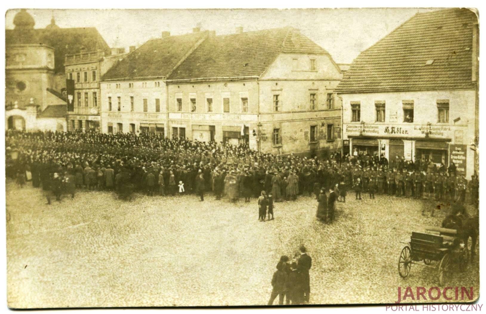 Nowa era, 1 stycznia 1919 r. w Jarocinie
