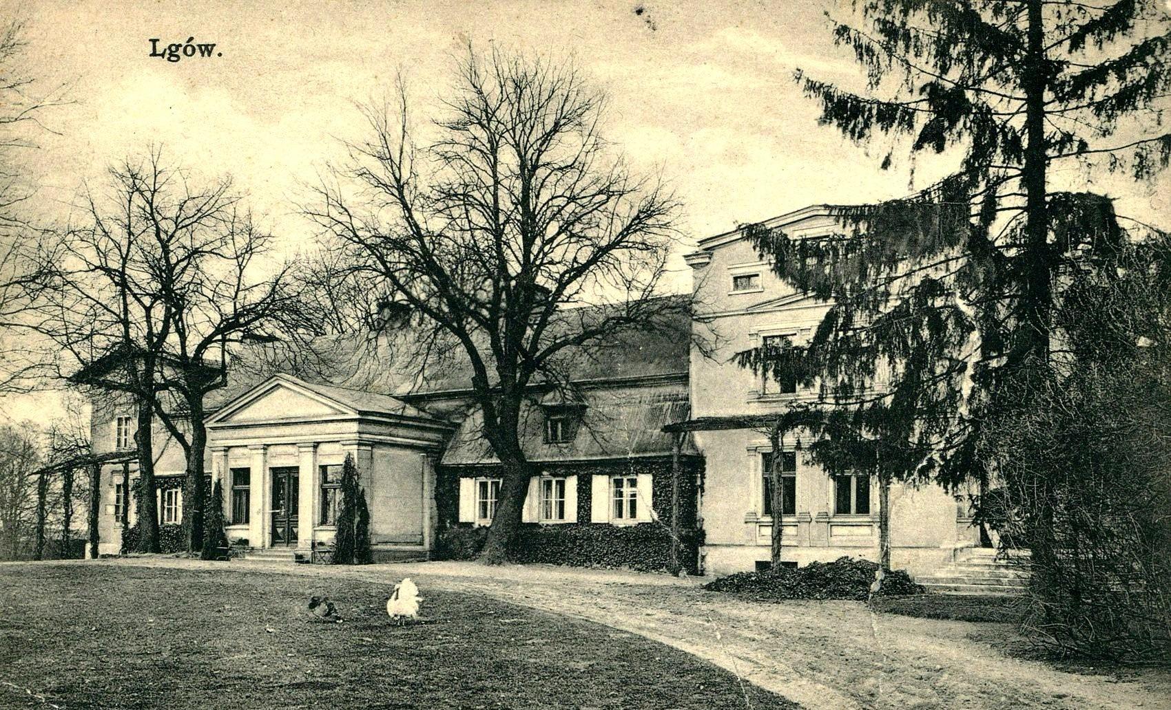 Dwór w Lgowie