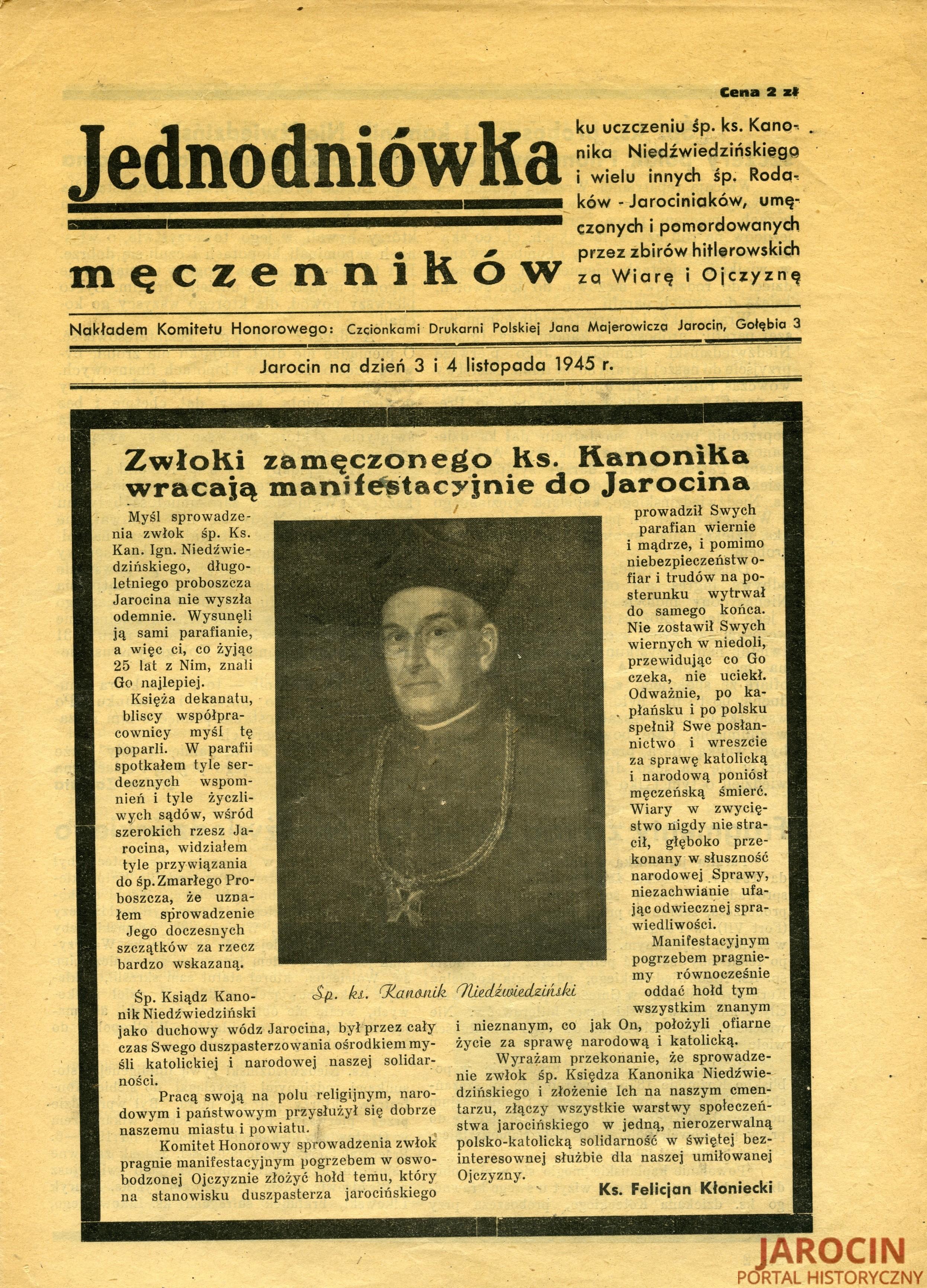 Ogłoszenia, druki ulotne i gazety