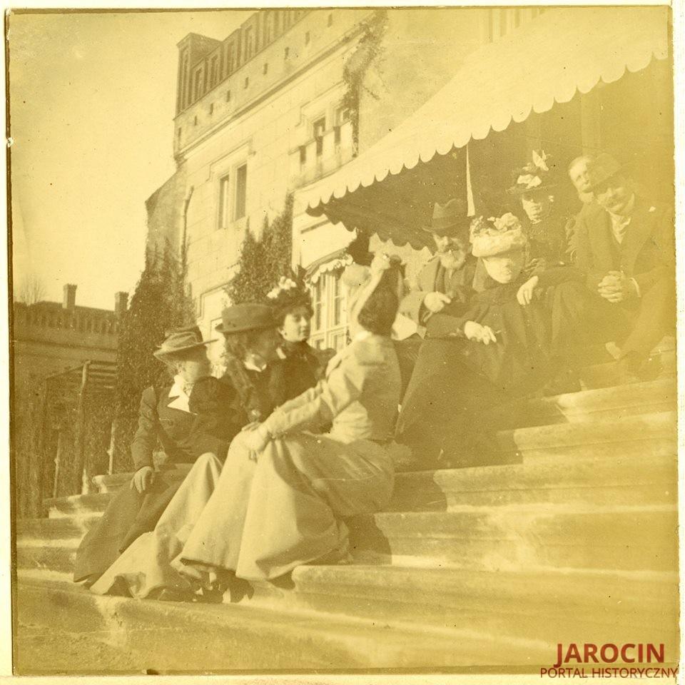 Pałacowe schody w Jarocinie
