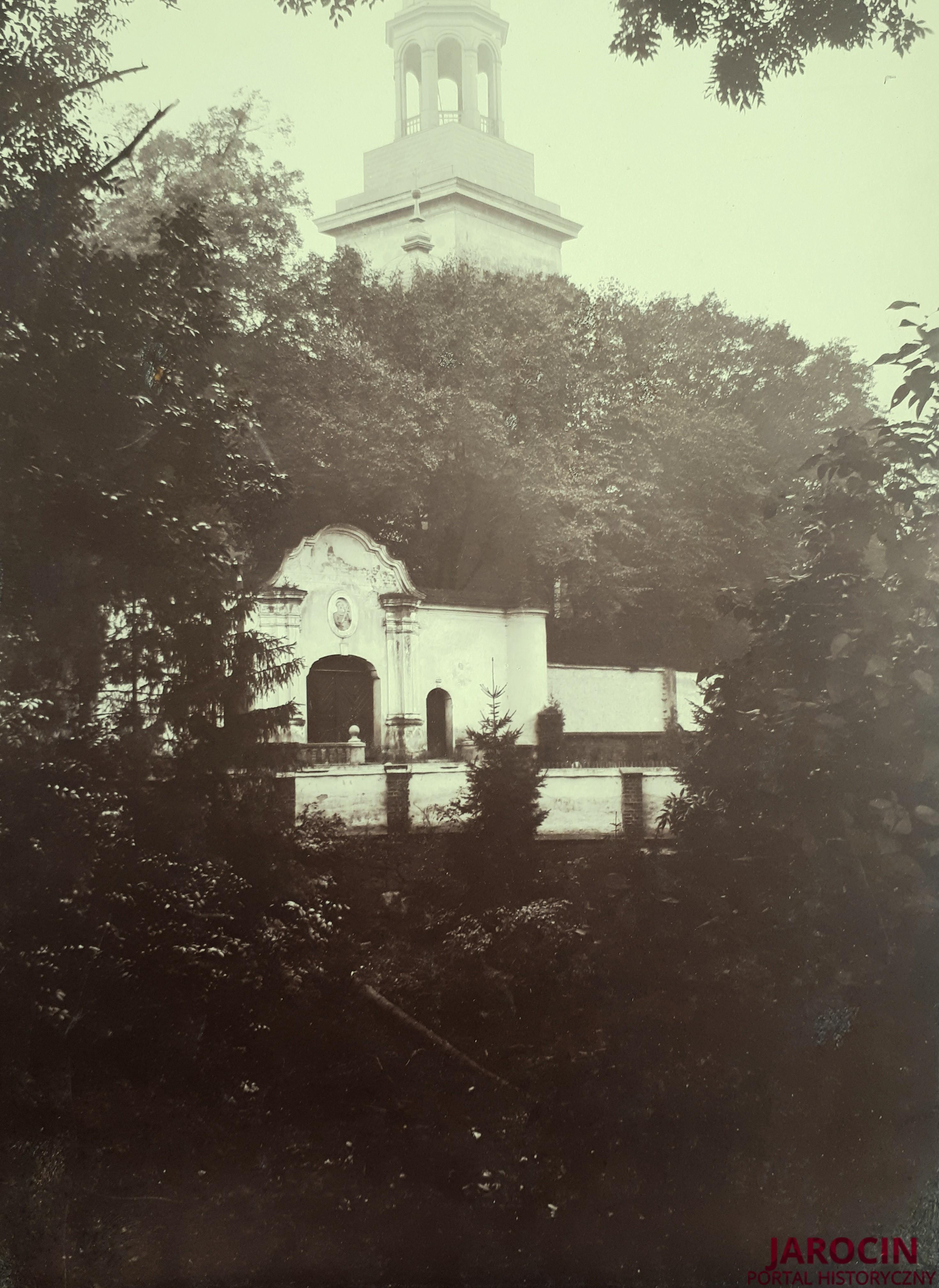 Wieża kościoła pw. św. Marcina