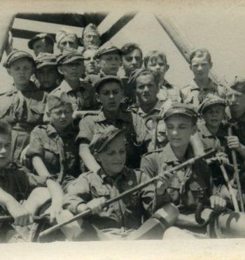 """Maciej Przybylski, """"Tragiczny finał obozu harcerskiego w Zaleszczykach, 1934 r."""""""